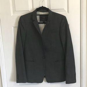 Dark Grey Jcrew Regent Blazer size 6